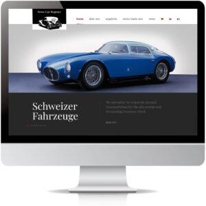 Nouvelle apparence du Swiss Car Register